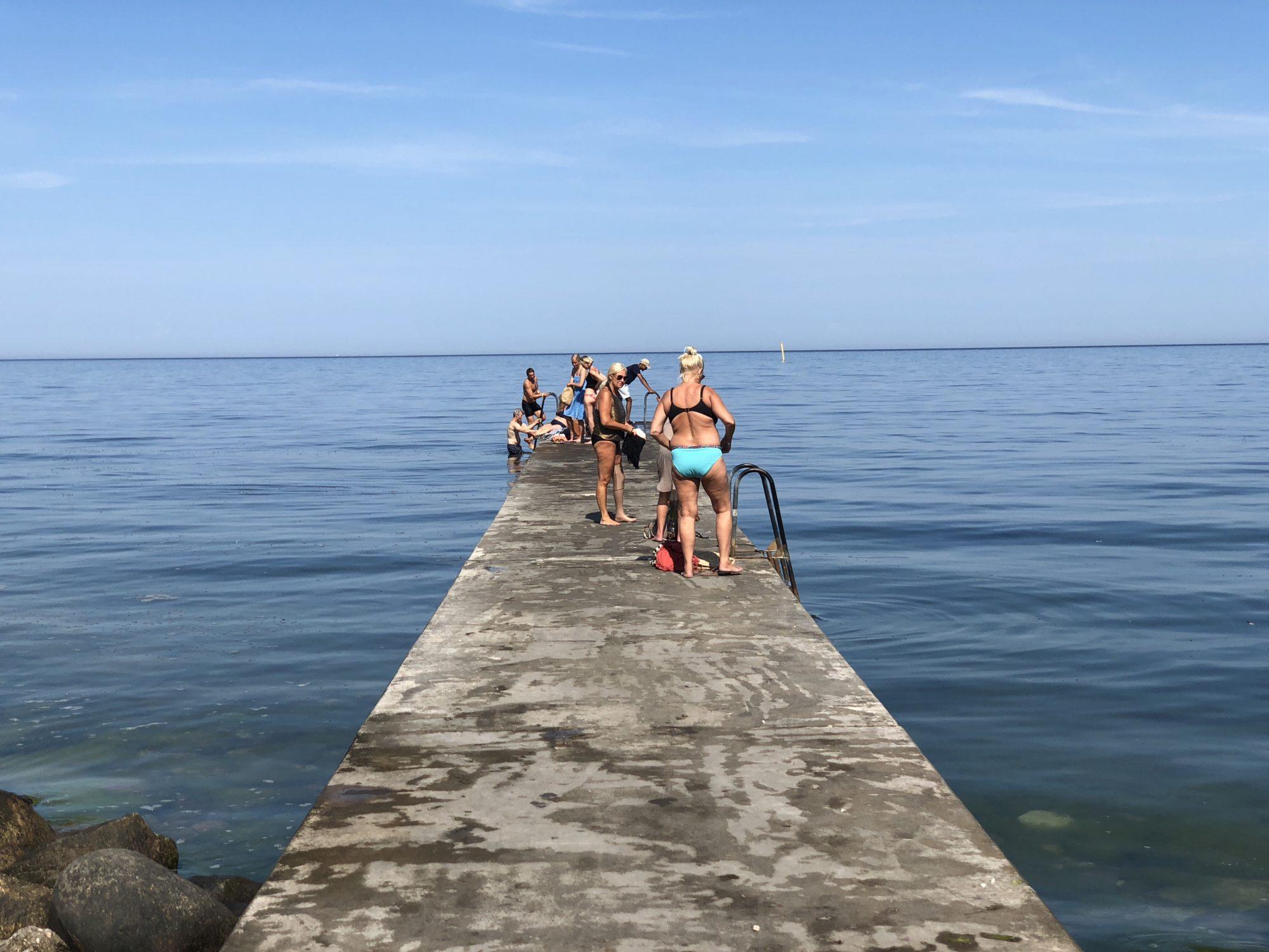 Ta ett dopp eller häng på stranden