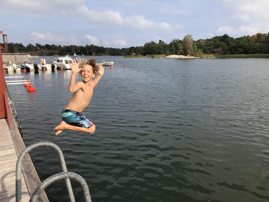Bad på Smådalarö Gård