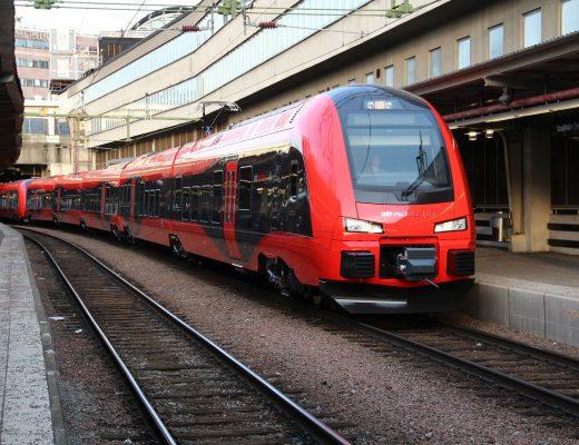 Weekendresor med tåg