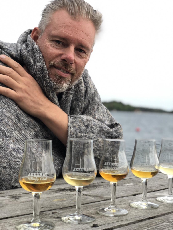 Whiskyprovning på Svartsö