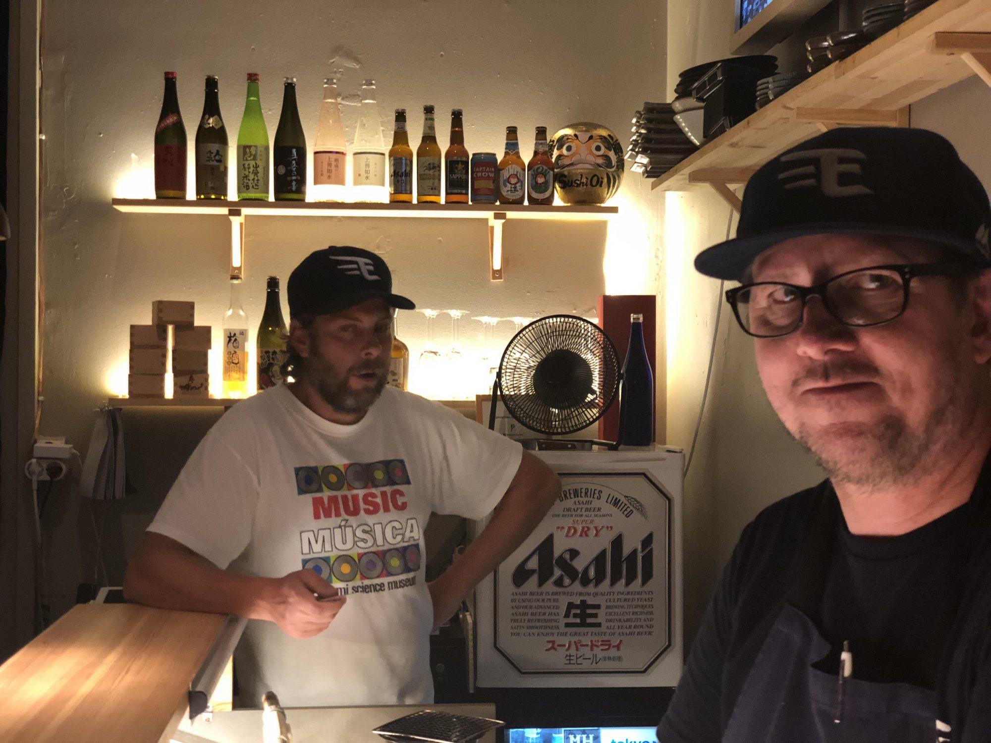 Sushi Oi på Karlavägen