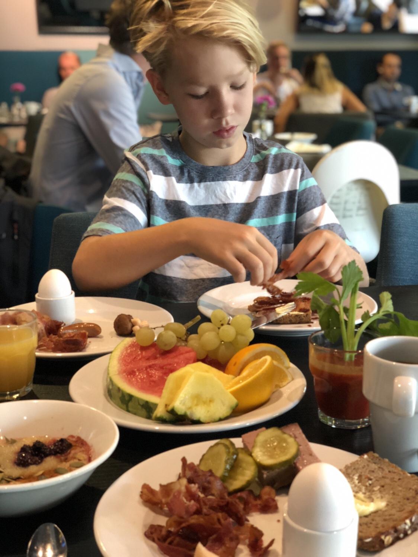 Scandic Rubinen i Göteborg frukost