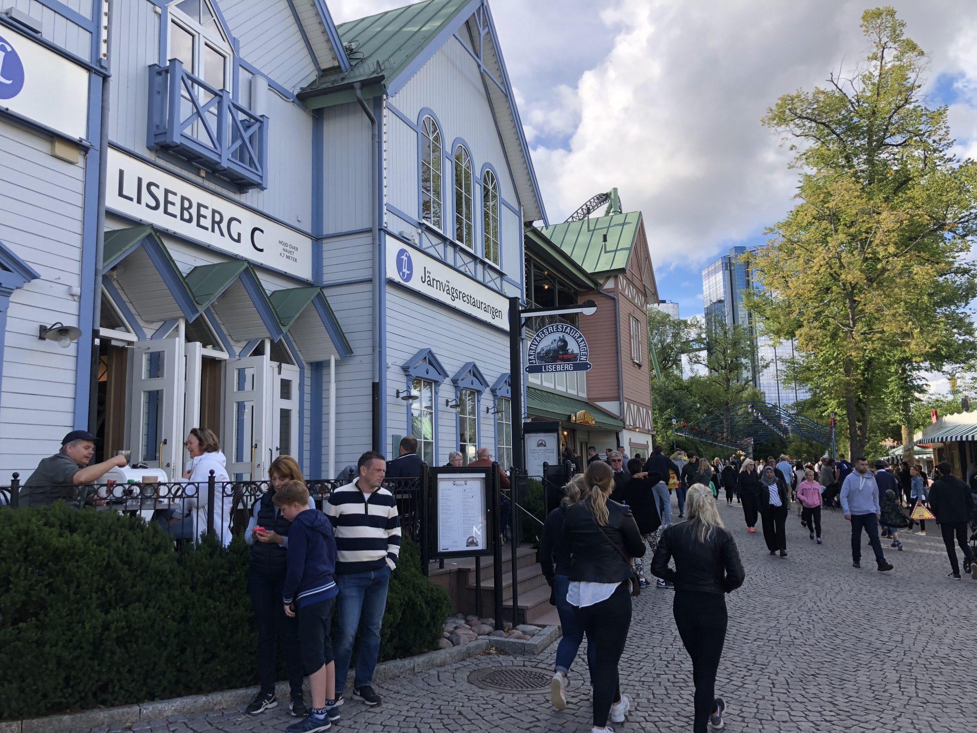 Järnvägsrestaurangen Liseberg