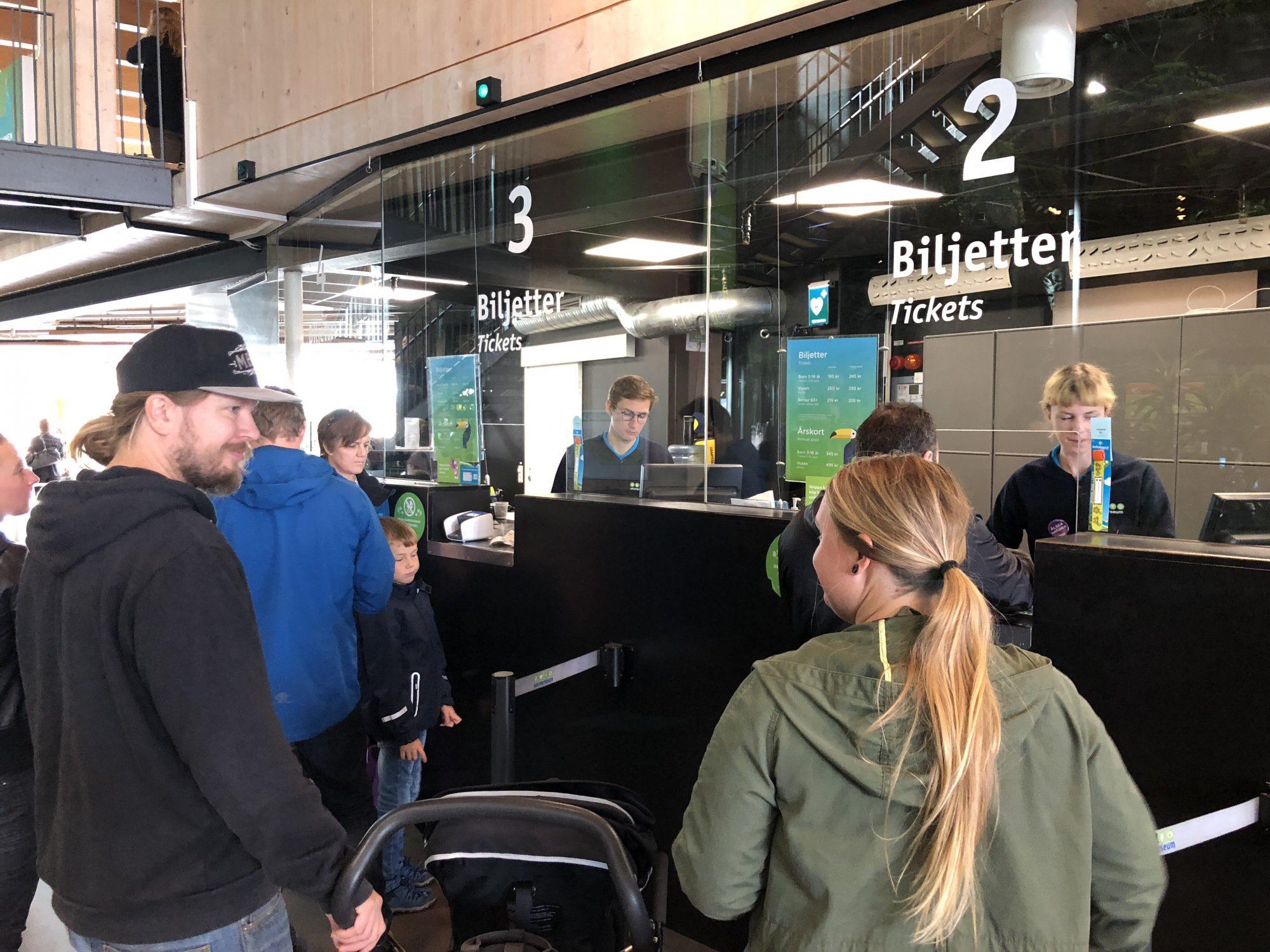 Universeum i Göteborg biljetter