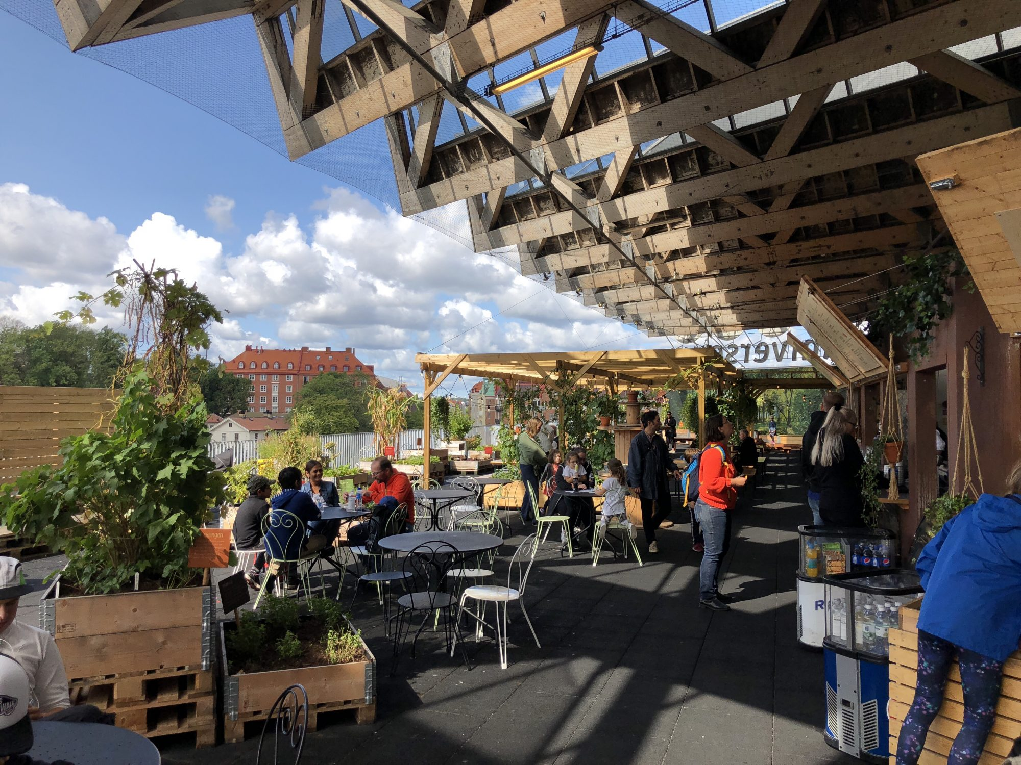 Universeum i Göteborg Restaurang