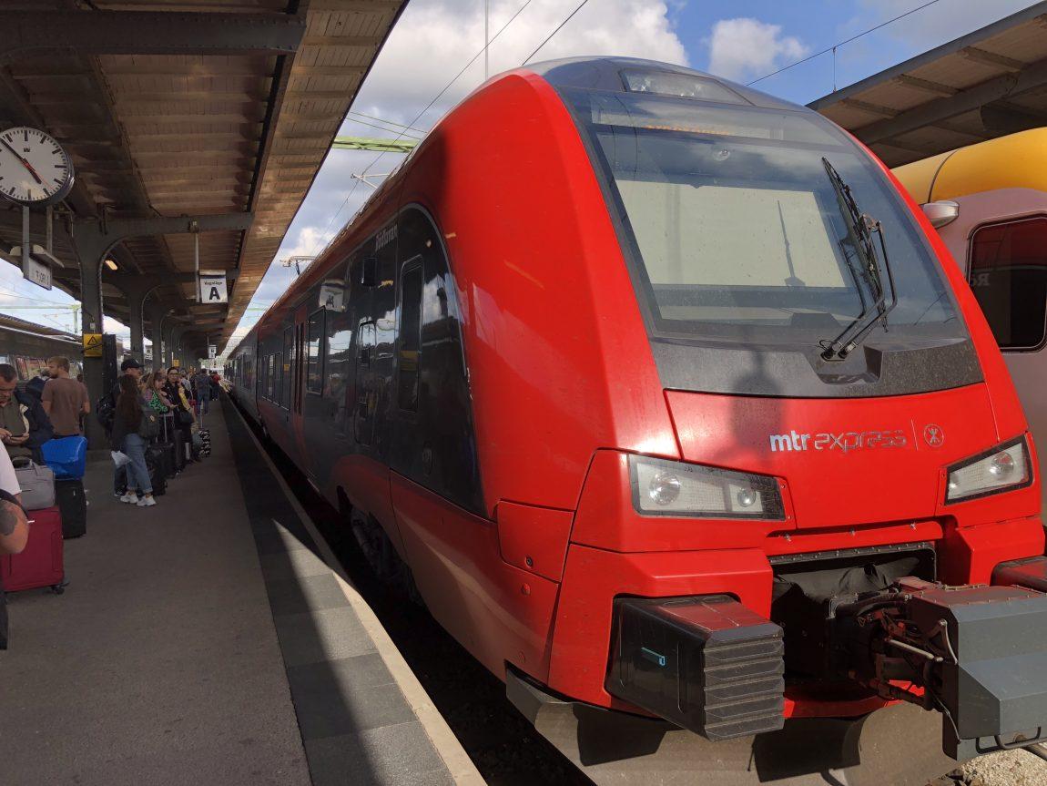 MTR Express till Göteborg