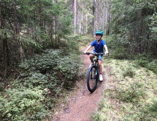 Skutberget i Karlstad - mountainbike