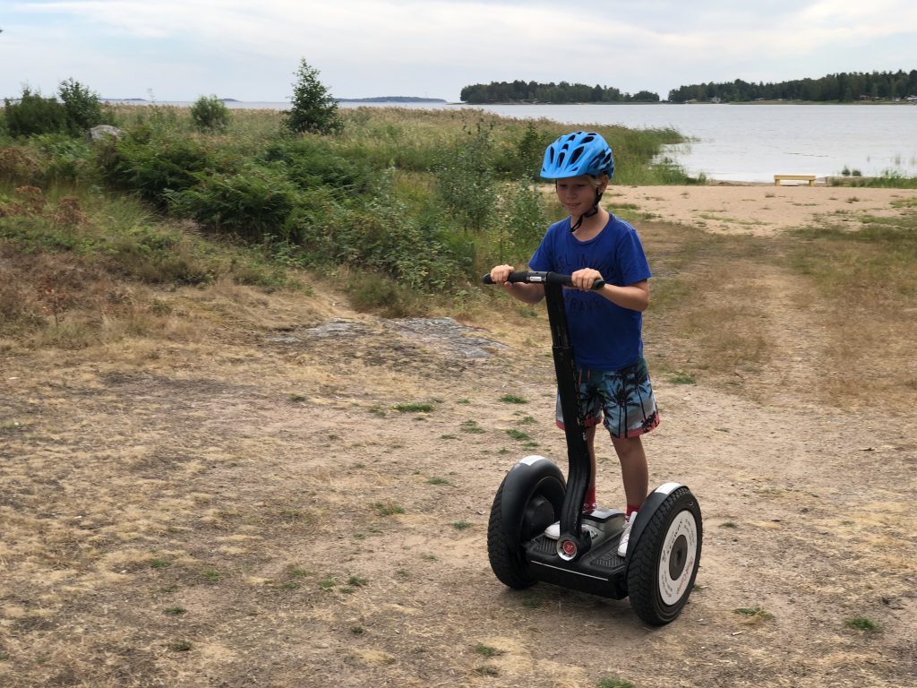 First Camp Karlstad Segway