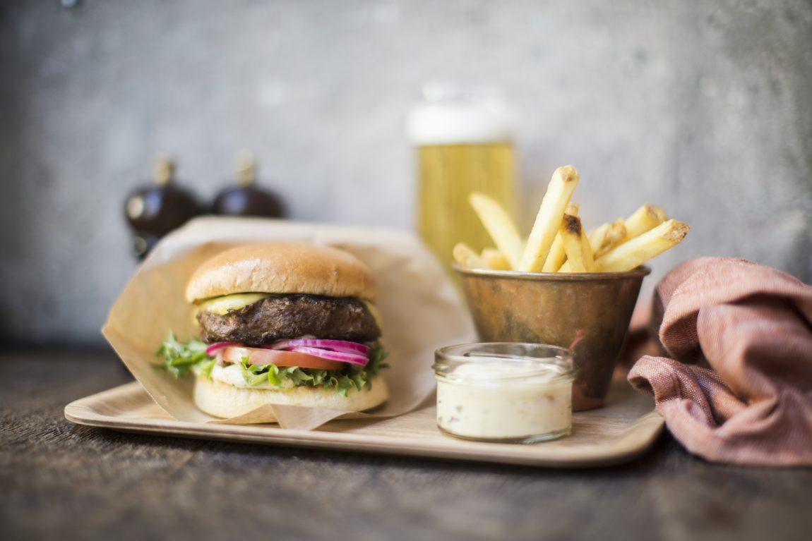 Beyond Burger - Veganska Hamburgare på Scandic