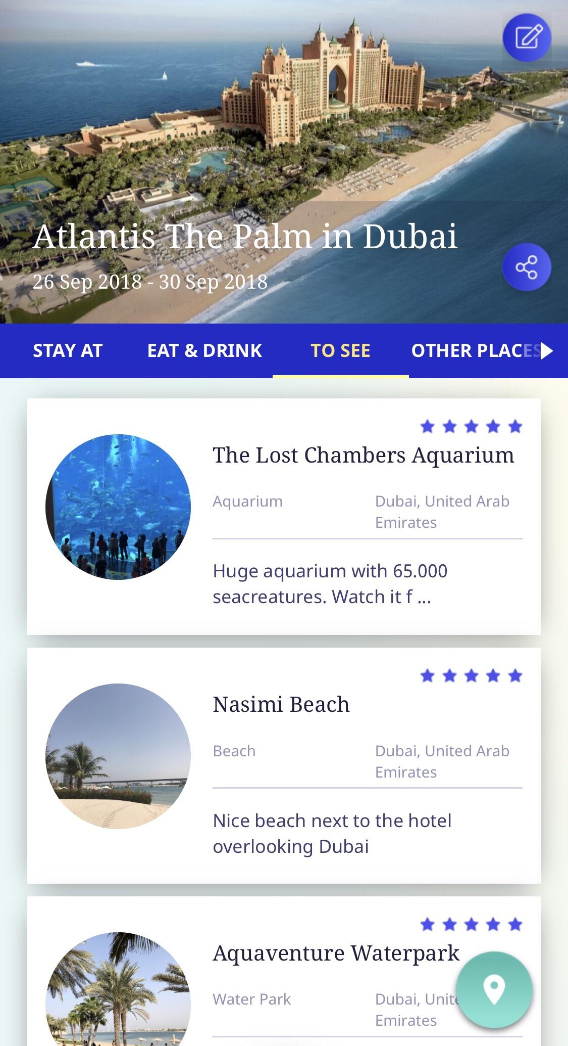 Resedagbok som app - testa gratisappen Wowanders!