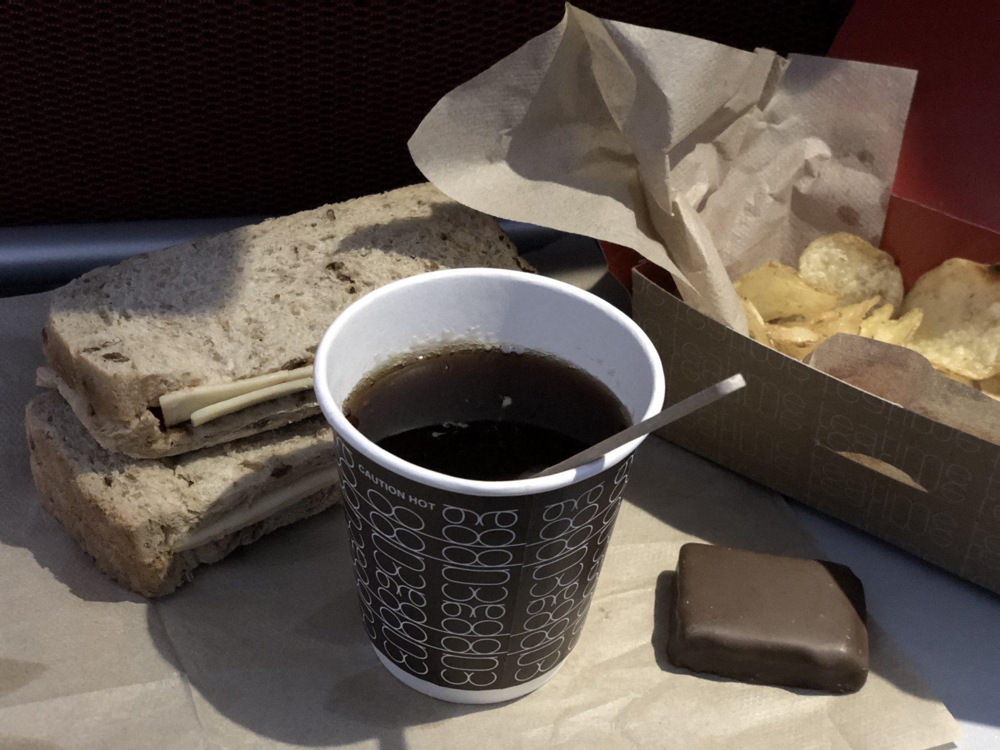 Afternoon Tea på Virgin Atlantic