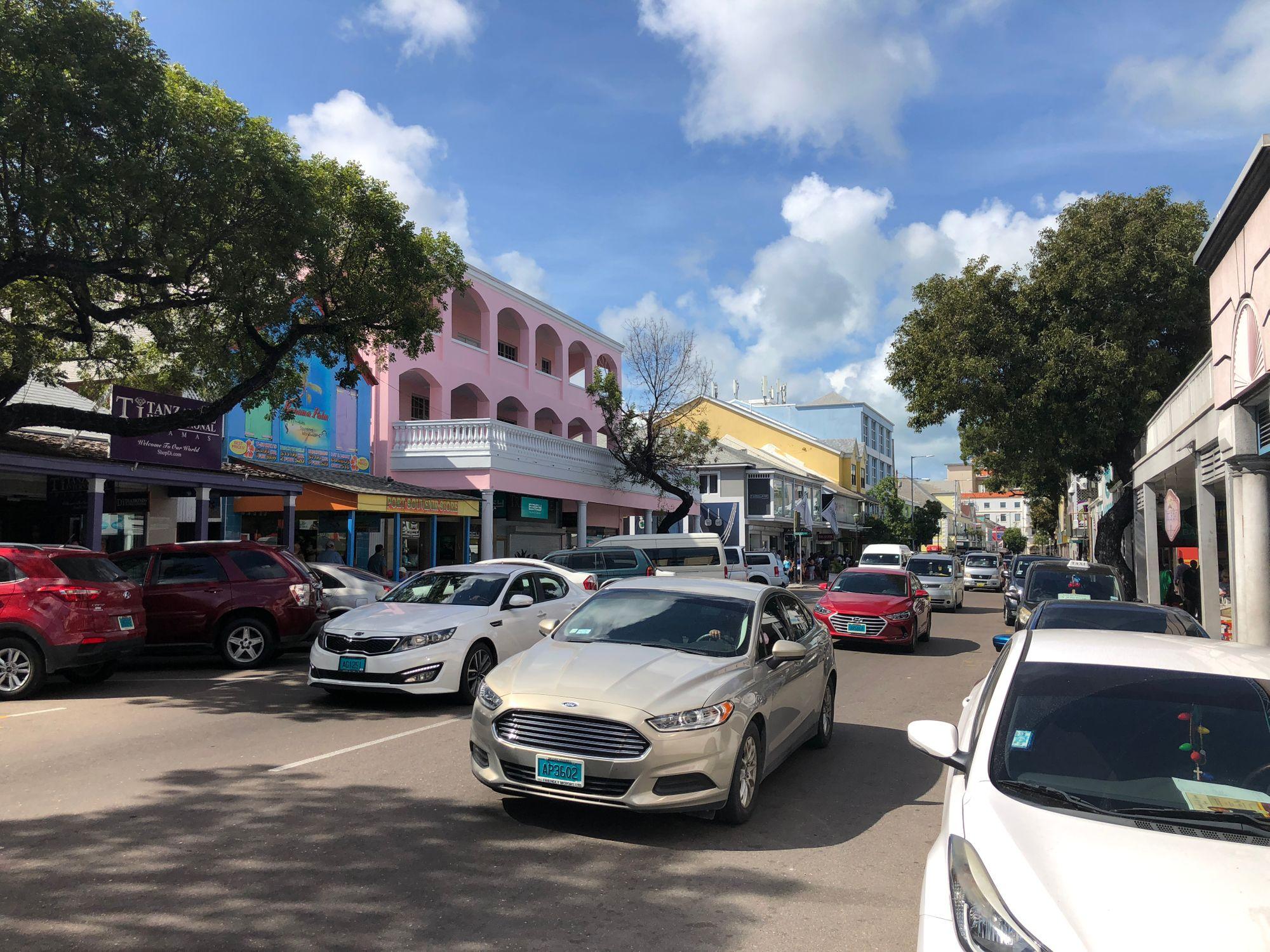En dag på Nassau - Goodman's Bay och Fish Fry