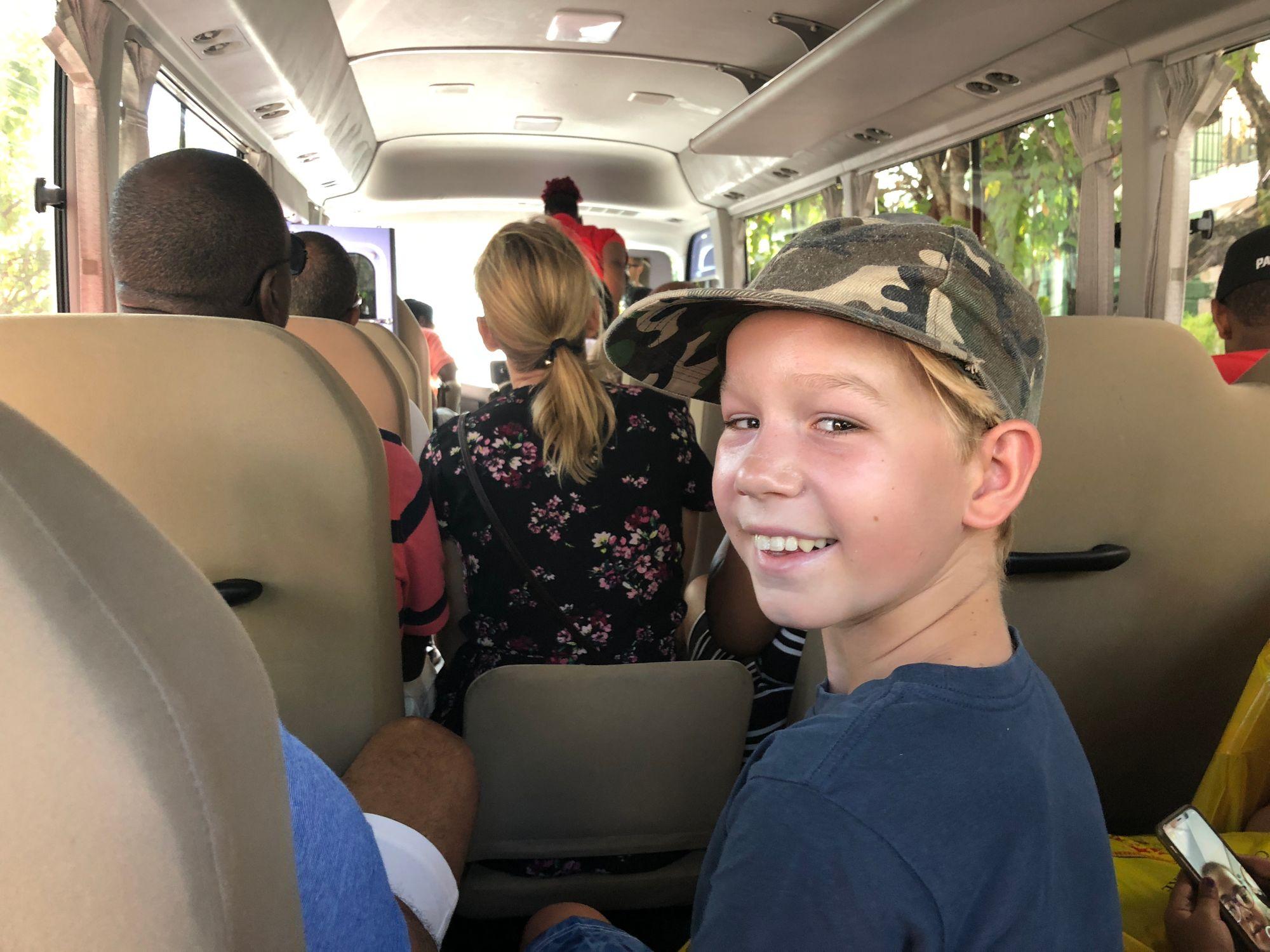 Buss på Nassau