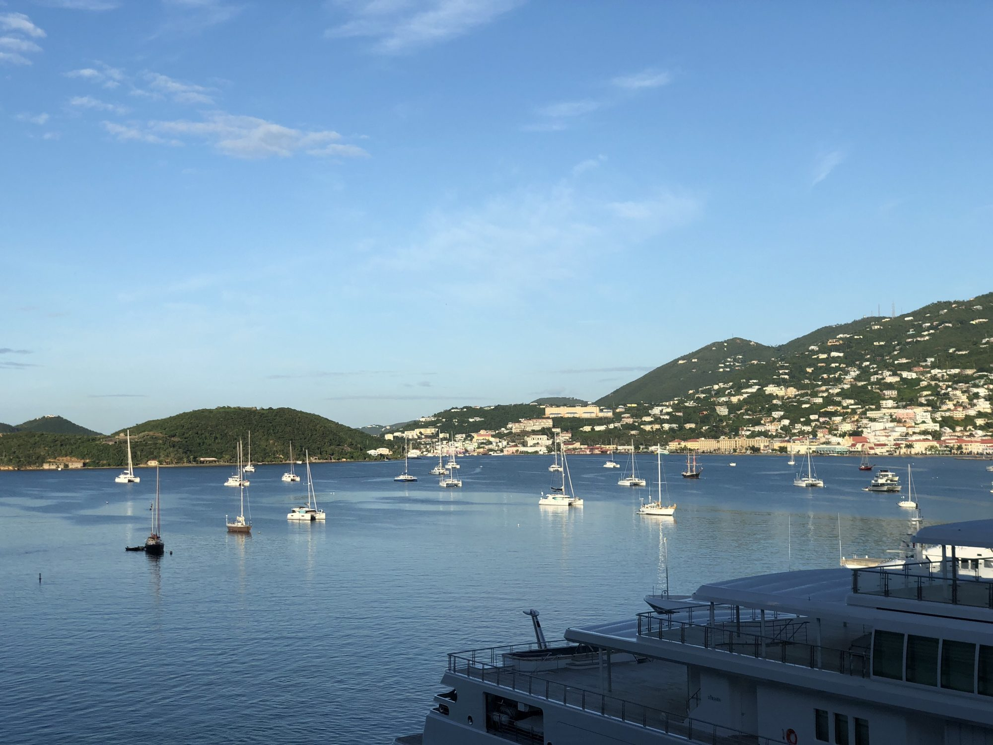 En dag på St Thomas i Karibien
