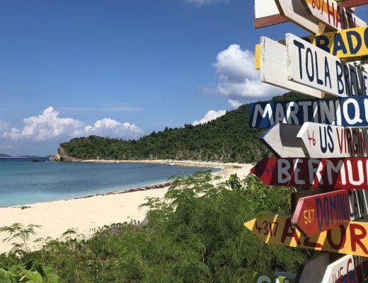 Att göra på ön Tortola i Karibien