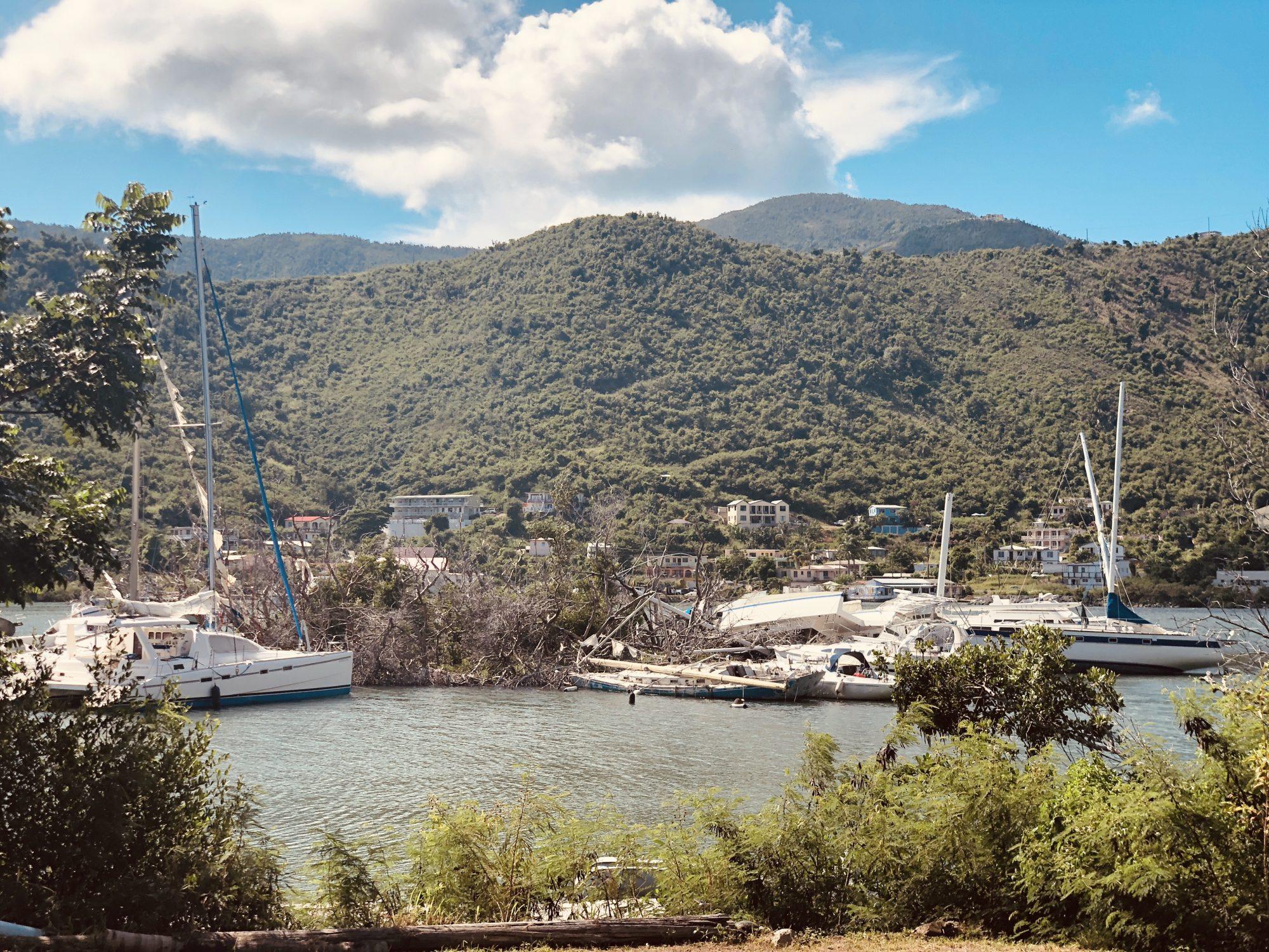 En dag på Tortola i Karibien