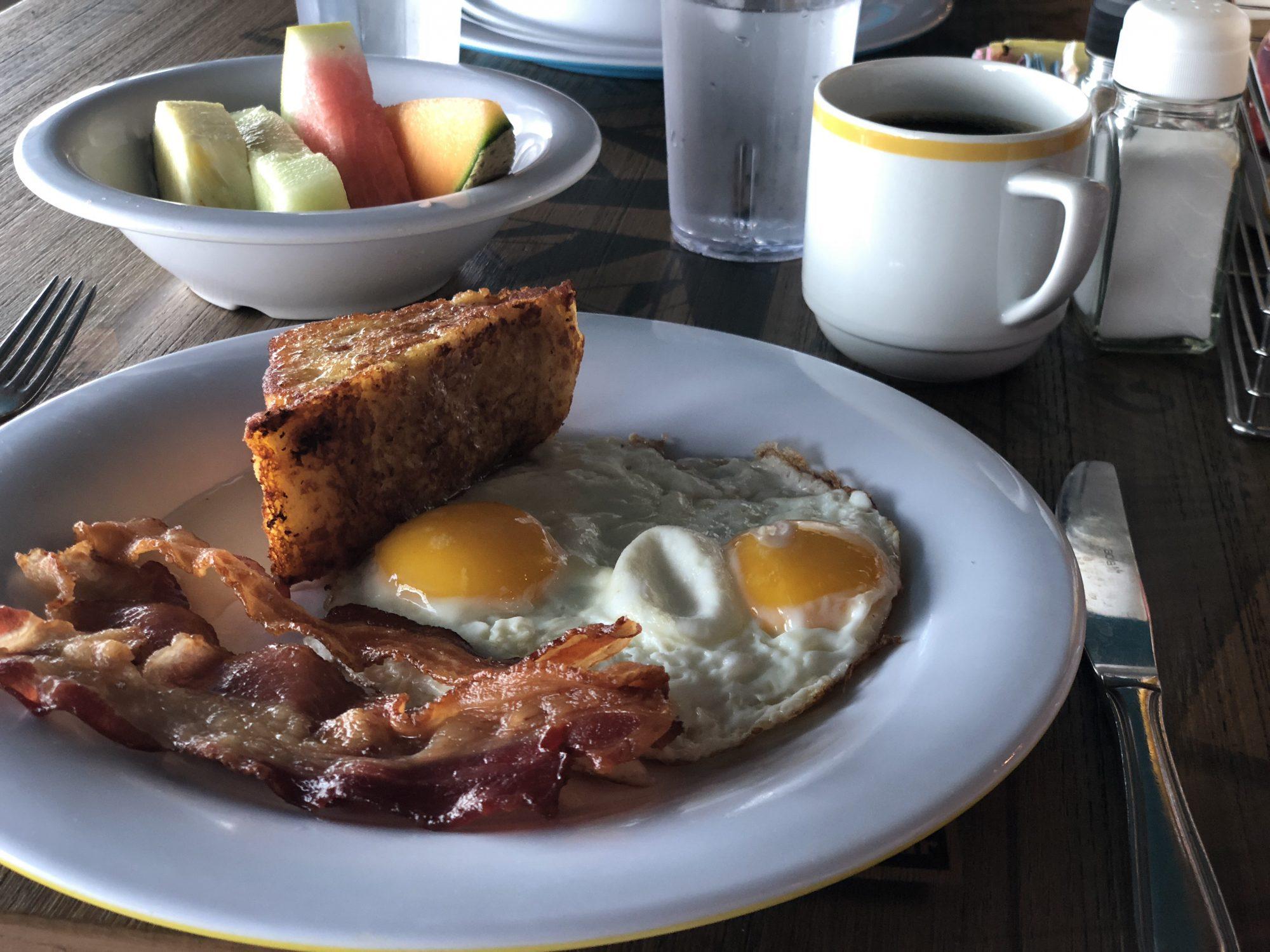 Restauranger på Norwegian Getaway frukosten