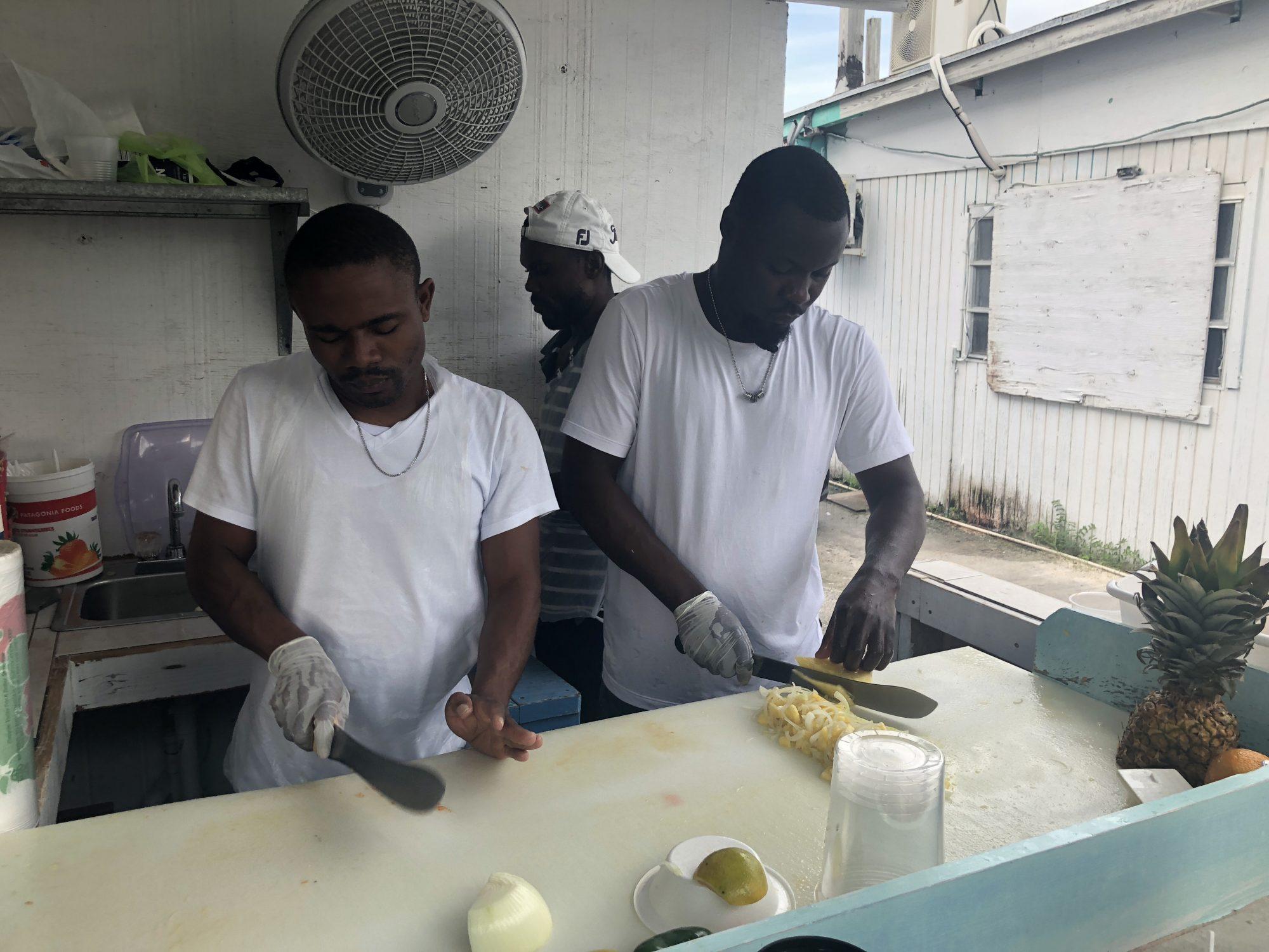 Fish Fry i Nassau