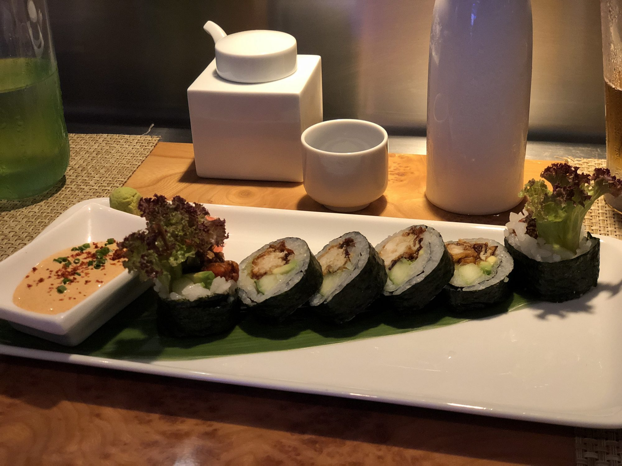 Wasabi Sushi på Norwegian Getaway