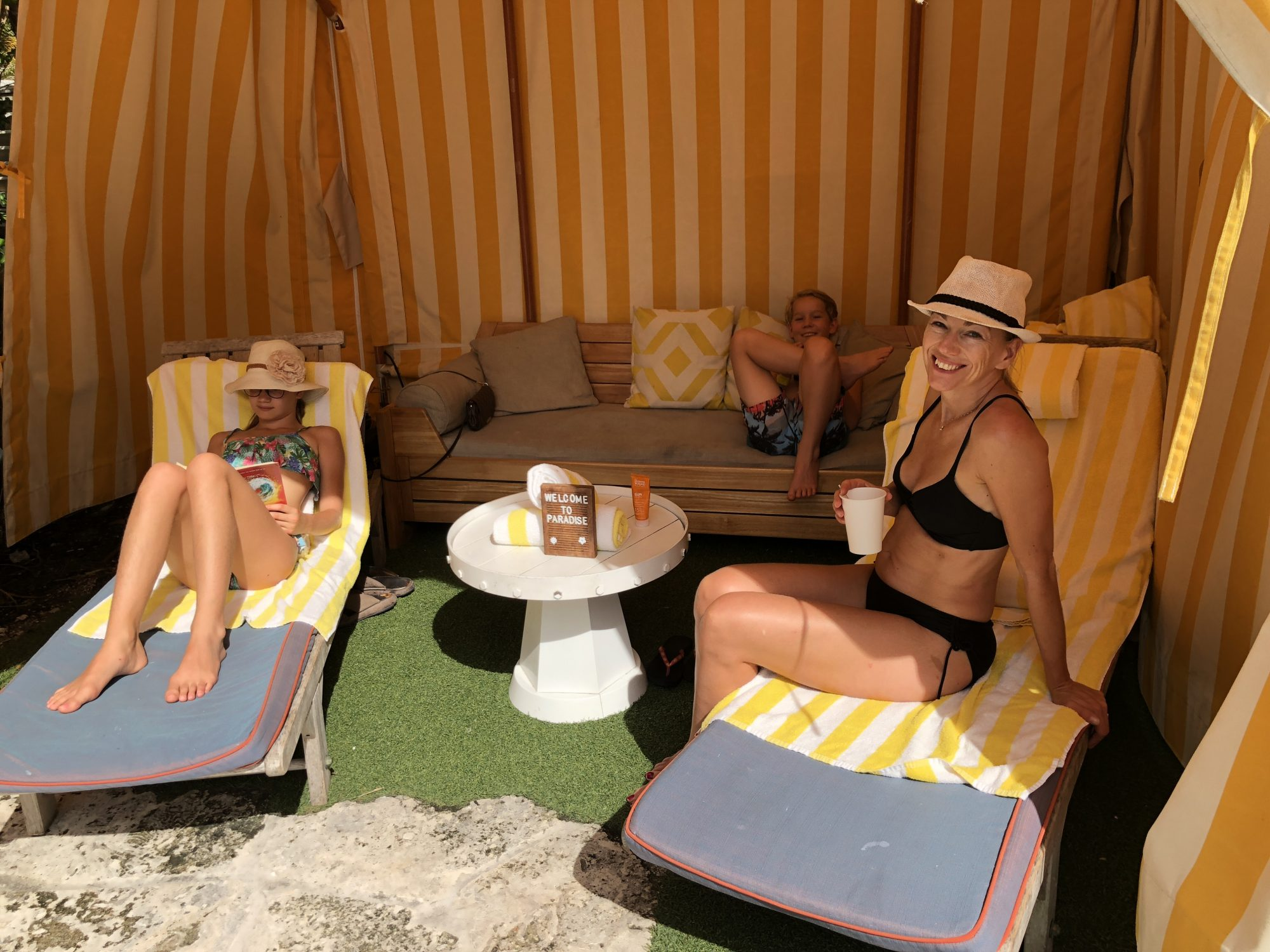 The Confidante Miami Beach Cabana