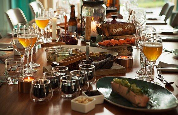 Julbord påArtipelag