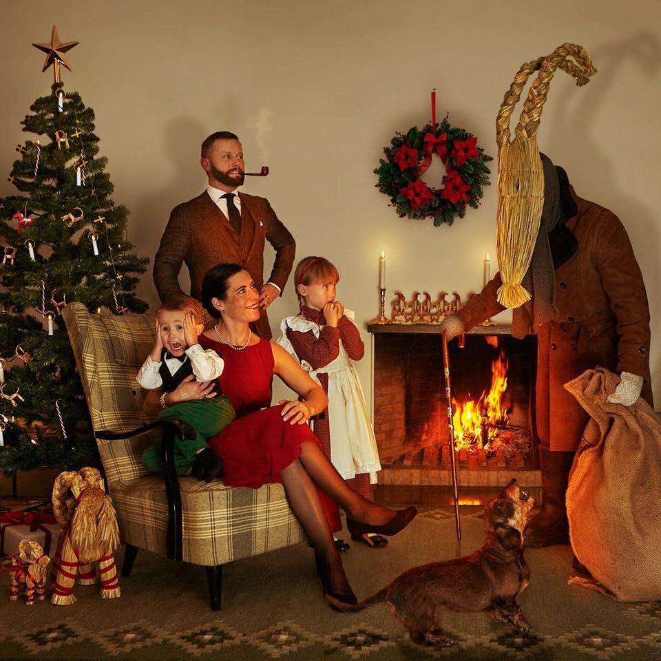 Julbock istället för Jultomte