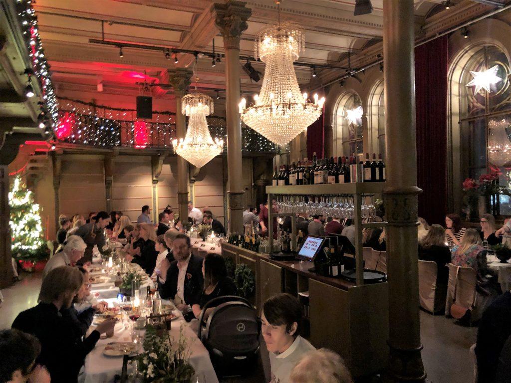 Julbord på Gamla Riksarkivet - ett av Stockholms bästa julbord