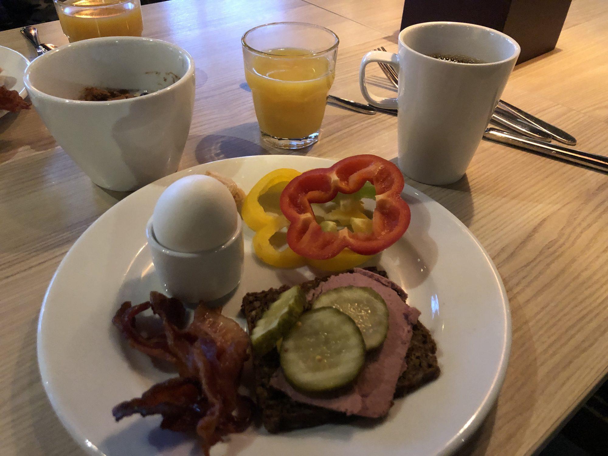 Frukost påScandic Västerås