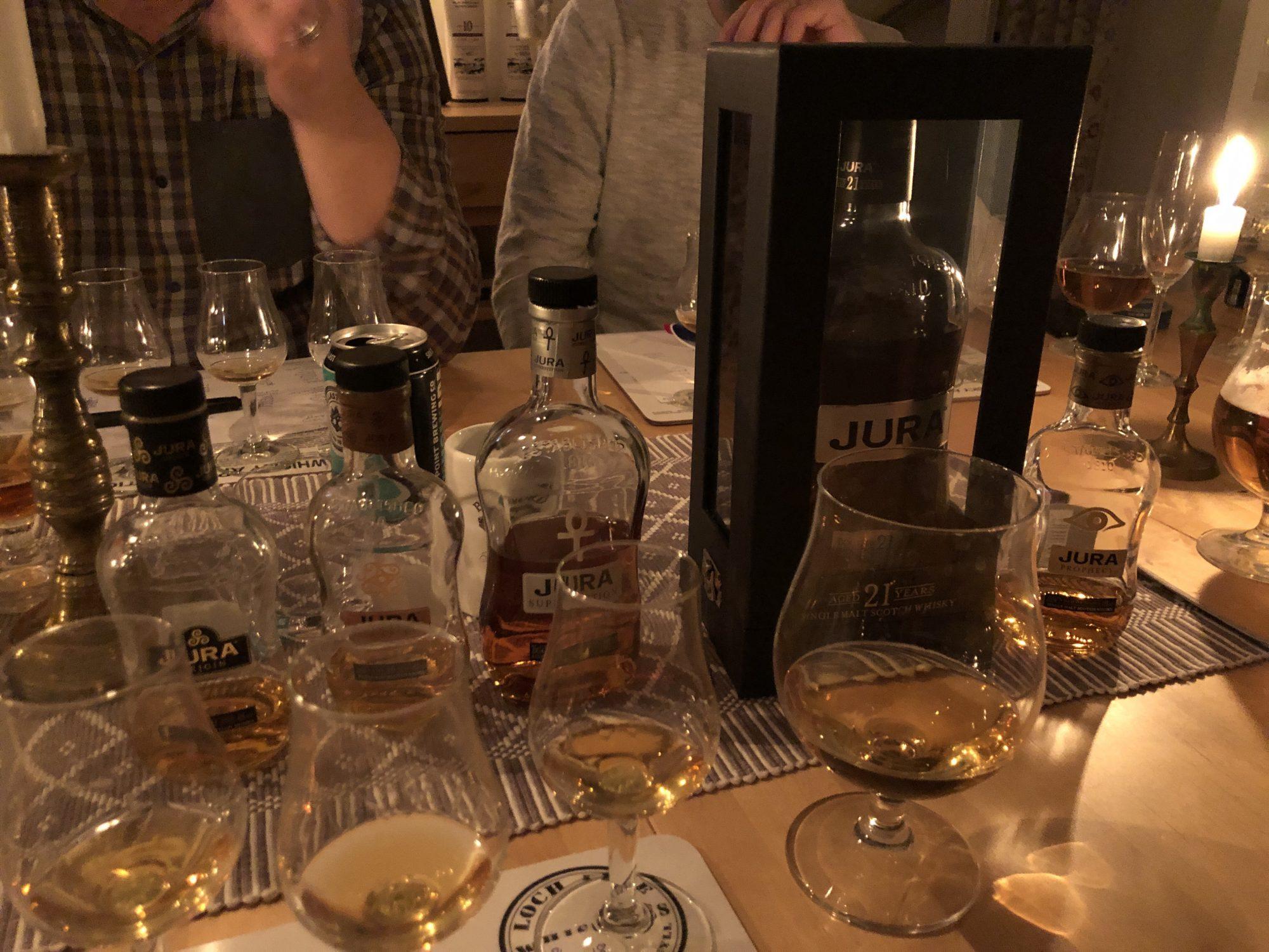 Herrmiddag - whiskyprovning