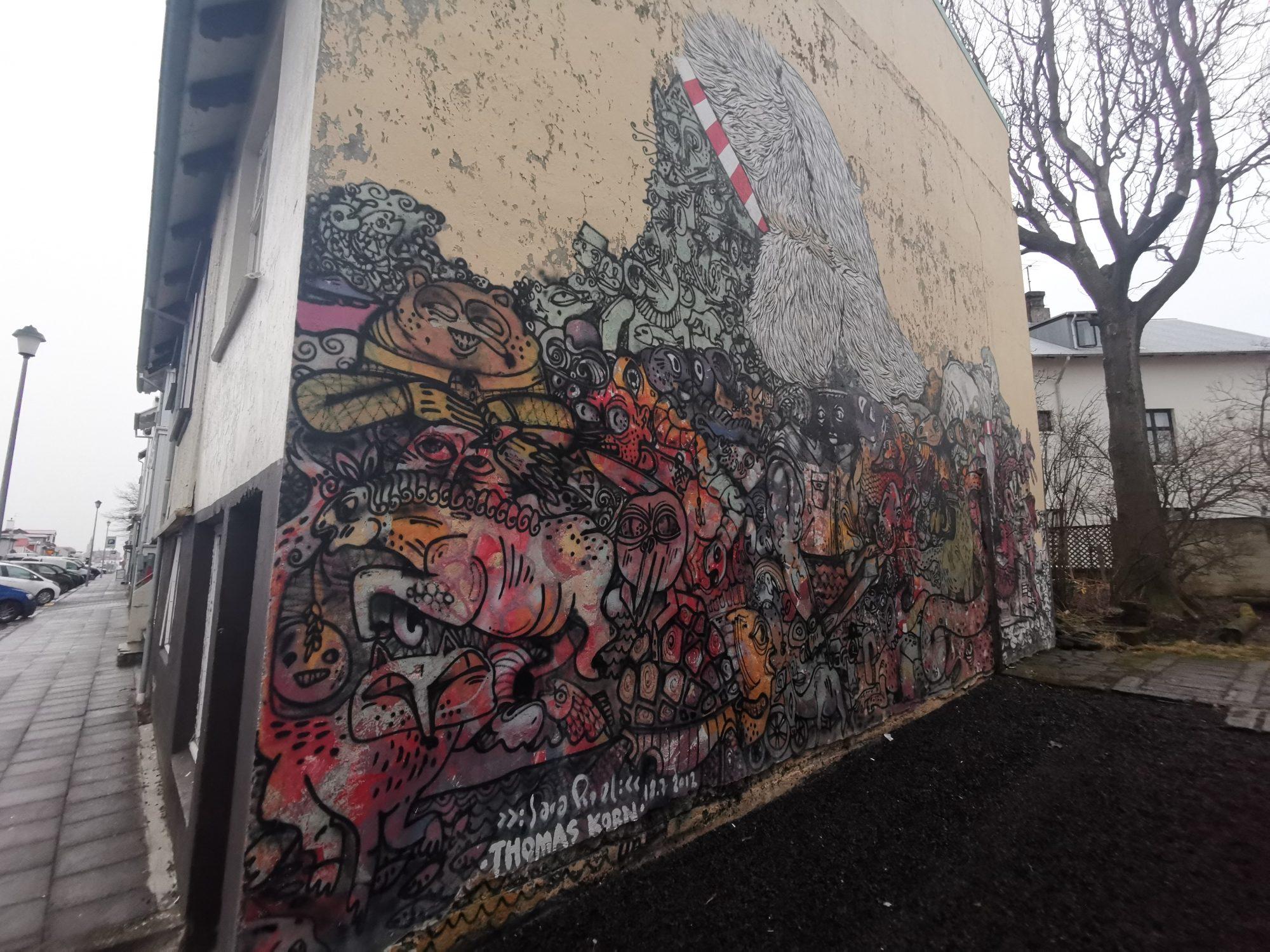 Street art iReykjavik