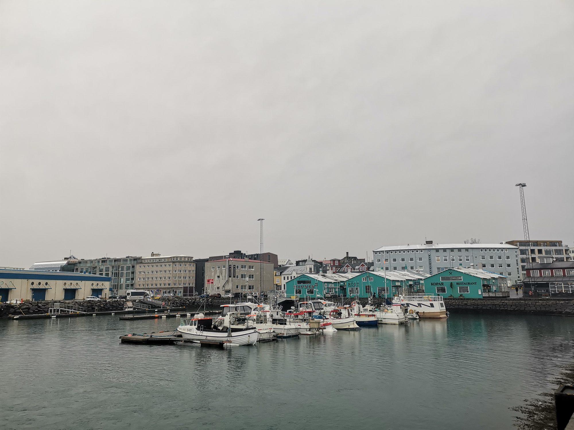 Reykjavik Old Harbor