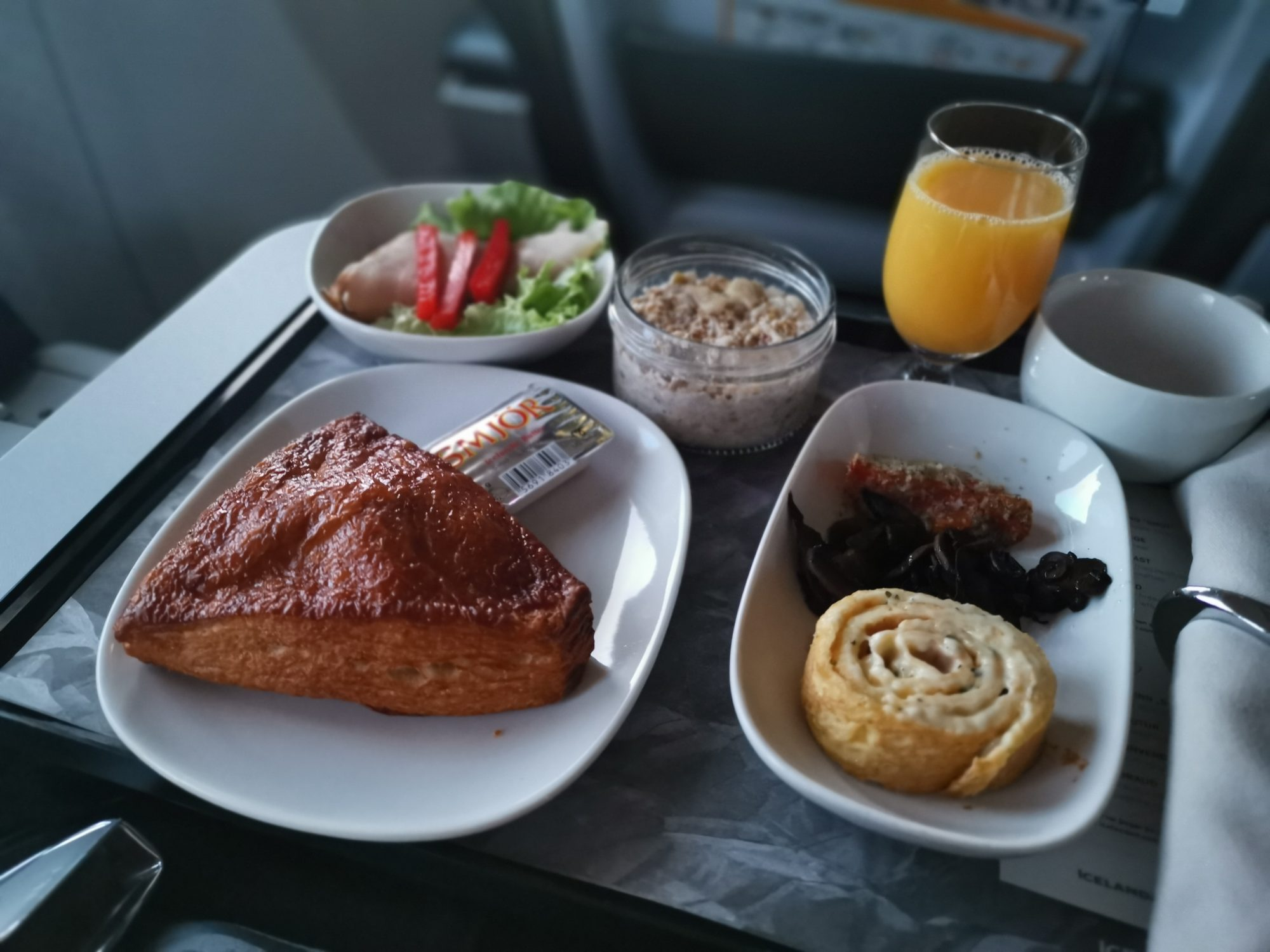 Icelandair Business Class Saga