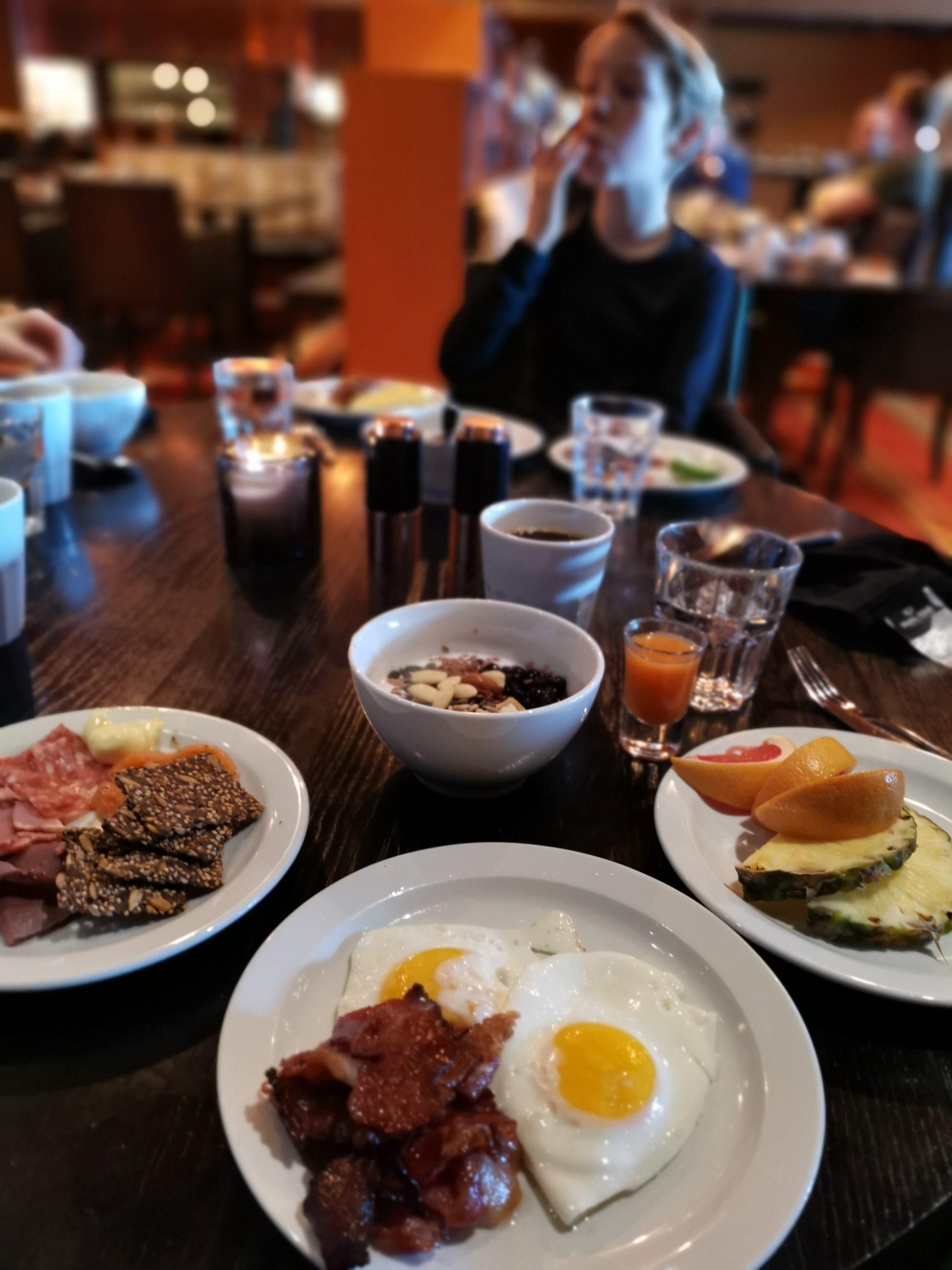 Frukosten på Copperhill
