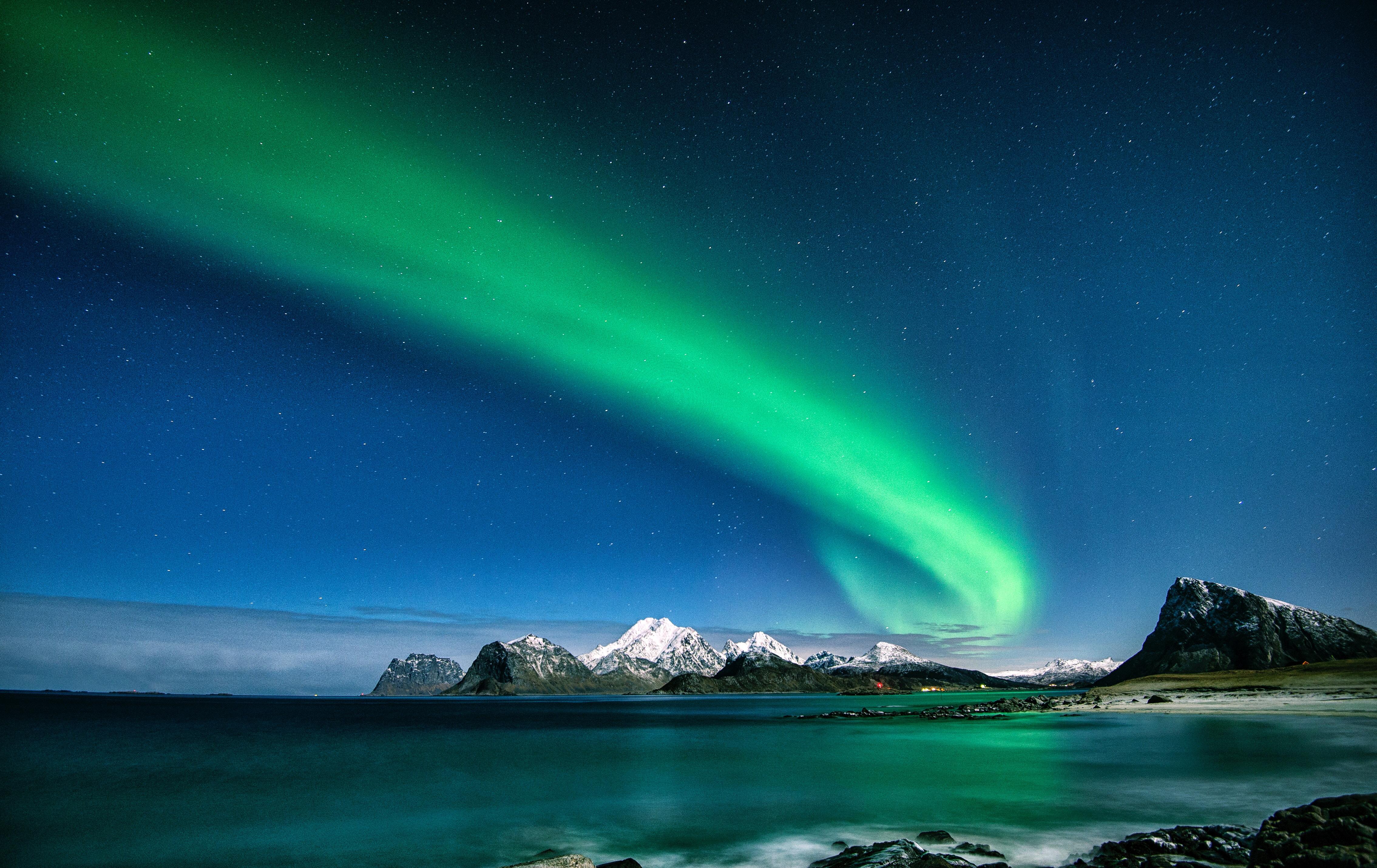 Norrsken på Island