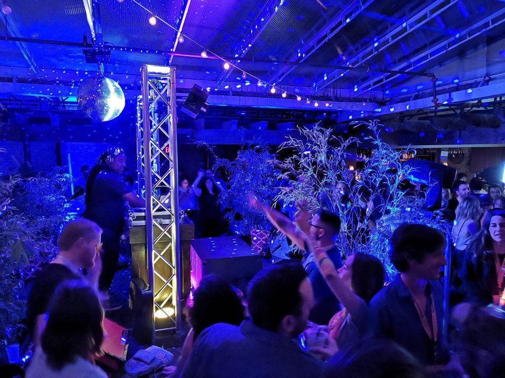 Events och mingel under SXSW