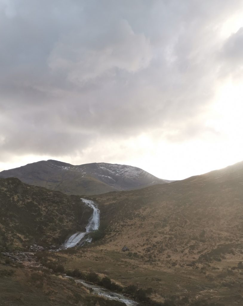 sol på Isle of Skye