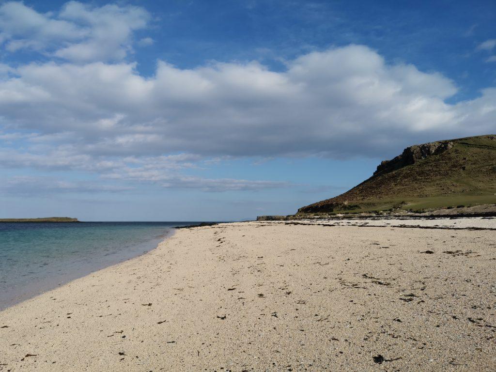 Coral Beach påIsle of Skye