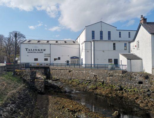 Talisker Distillery på Isle of Skye