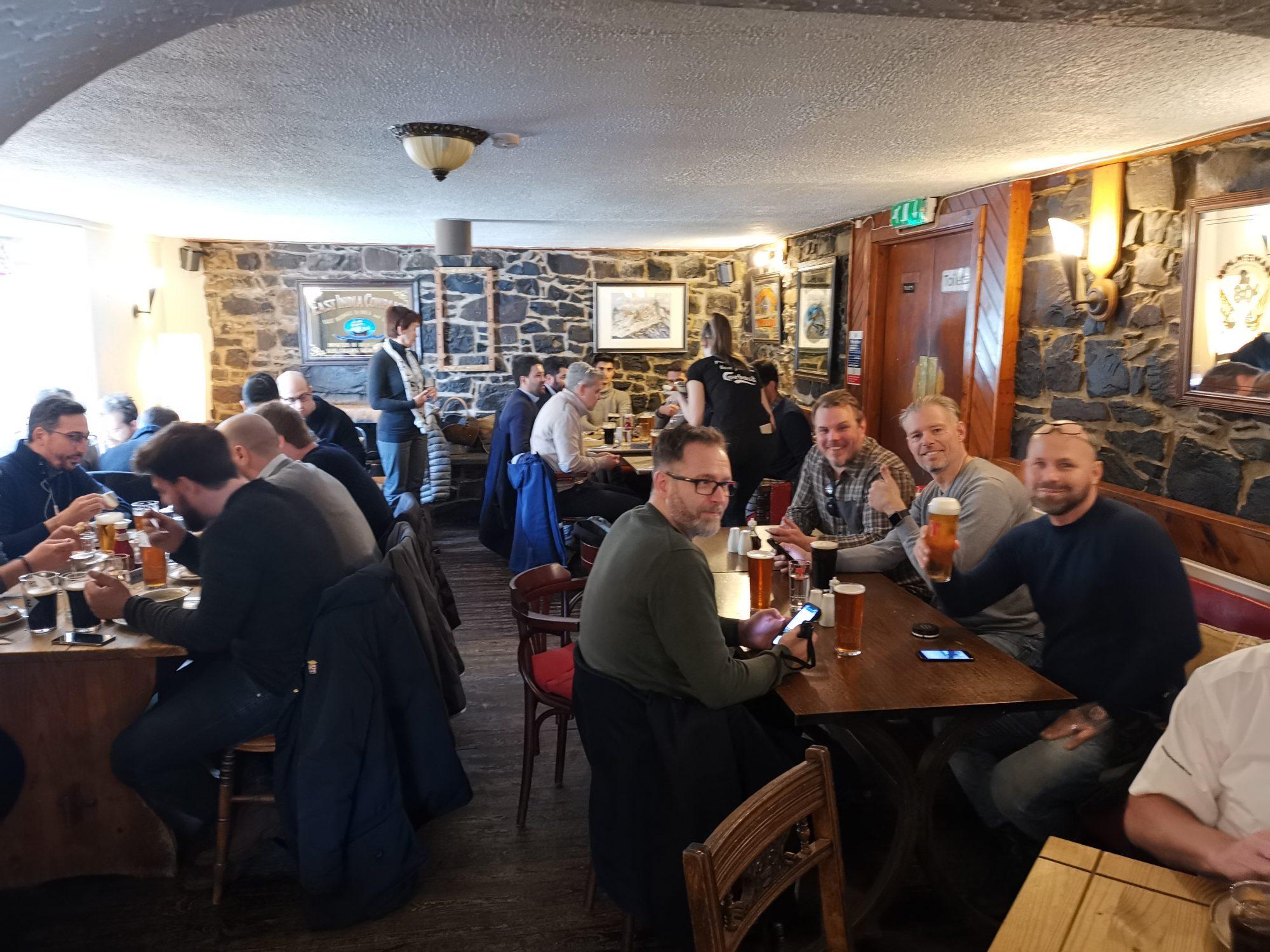 Lunch vid Talisker på Old Inn