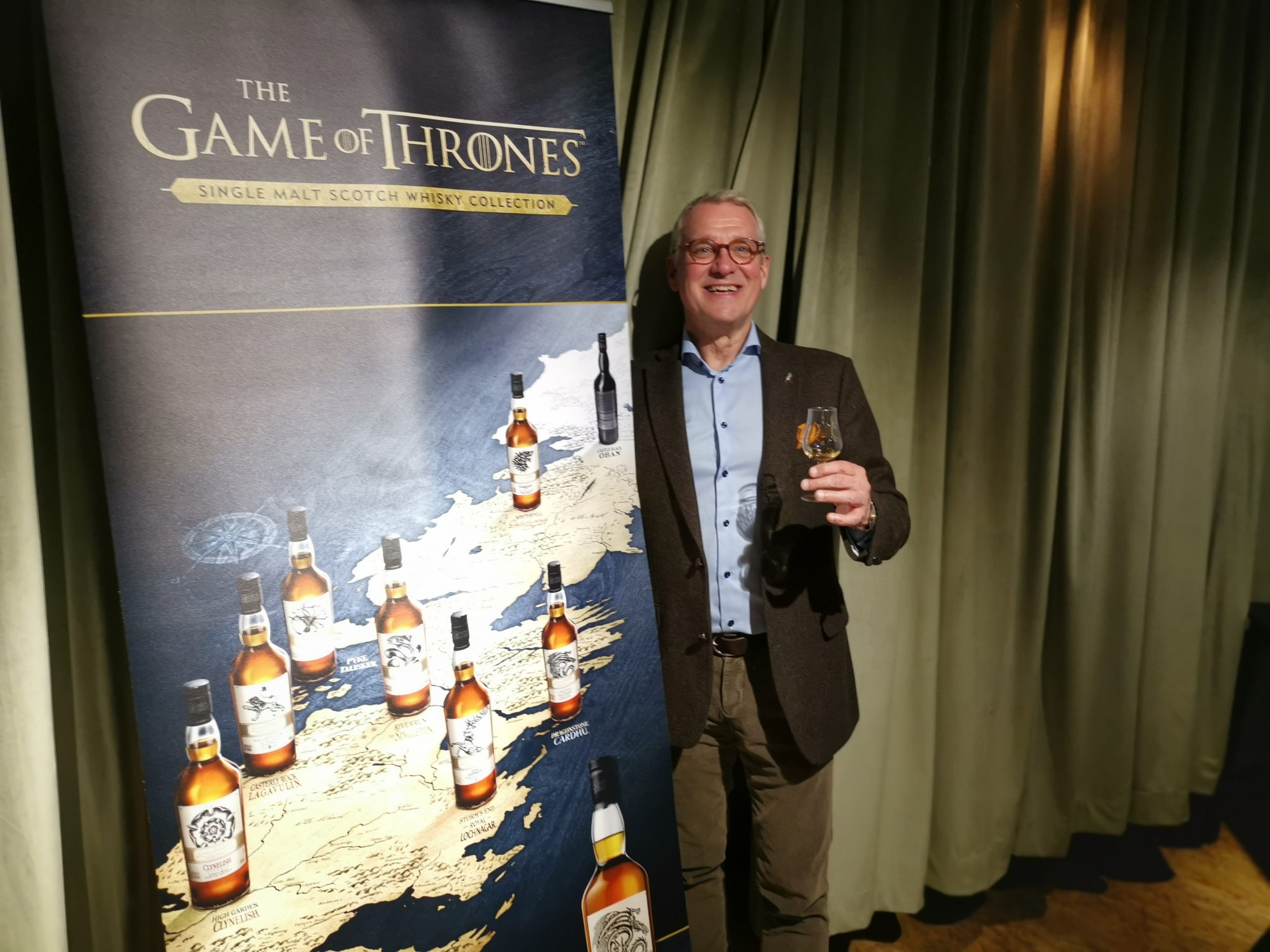 Games of Thrones Single Malt Whisky collection