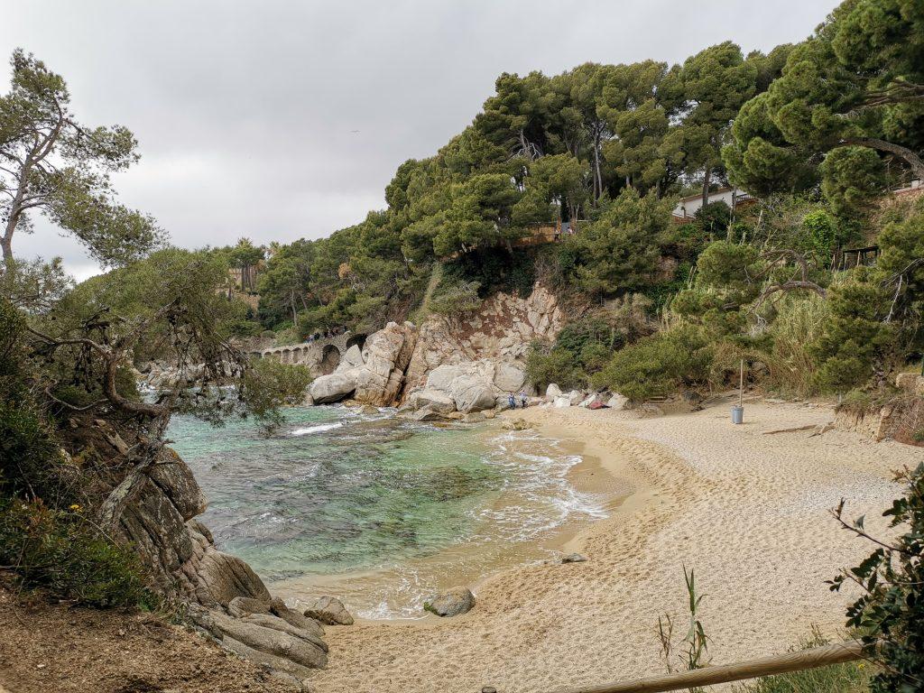 Costa Brava i Spanien - Platja d'Aro
