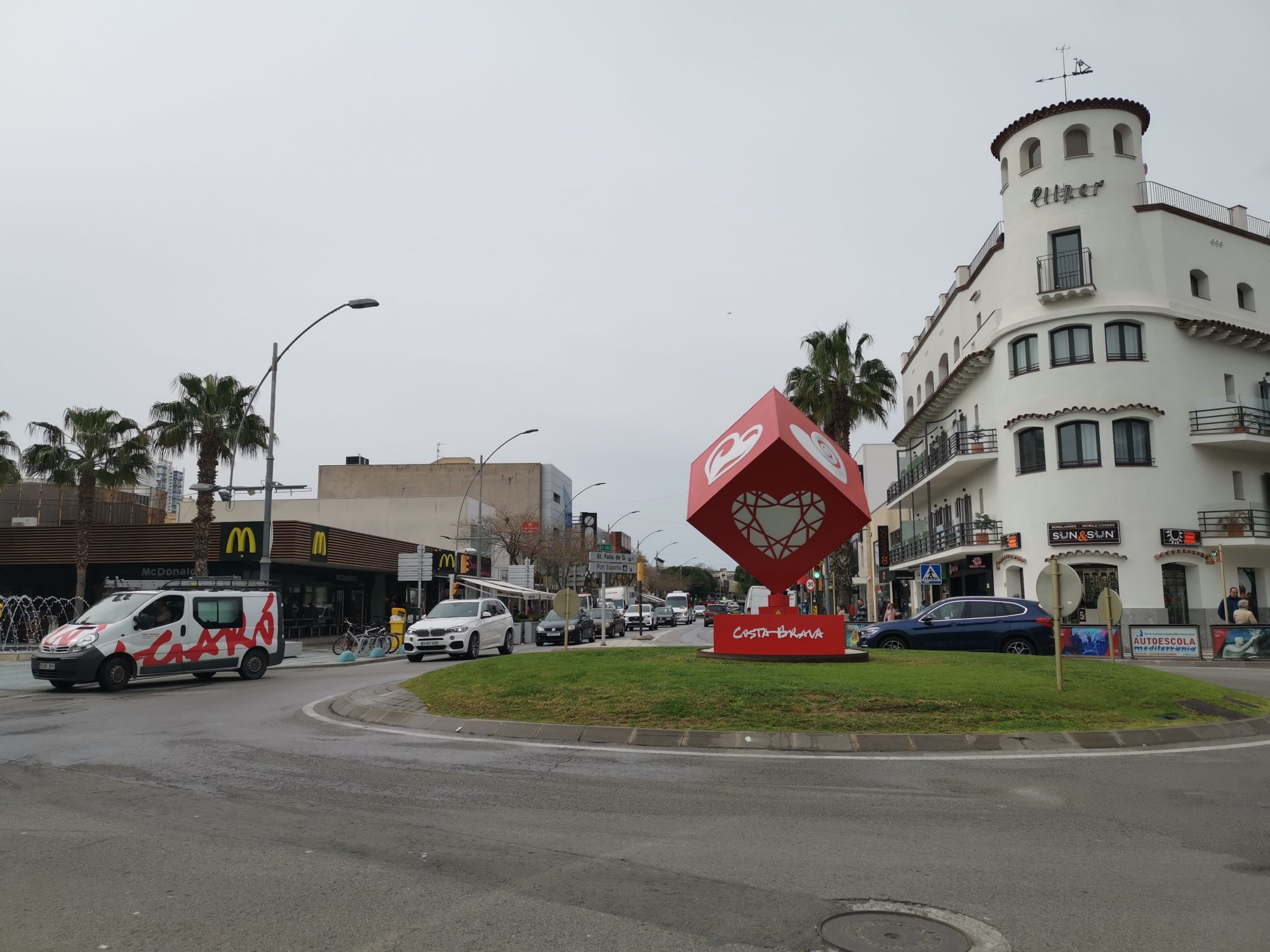 Platja d'Aro - shoppinggatan