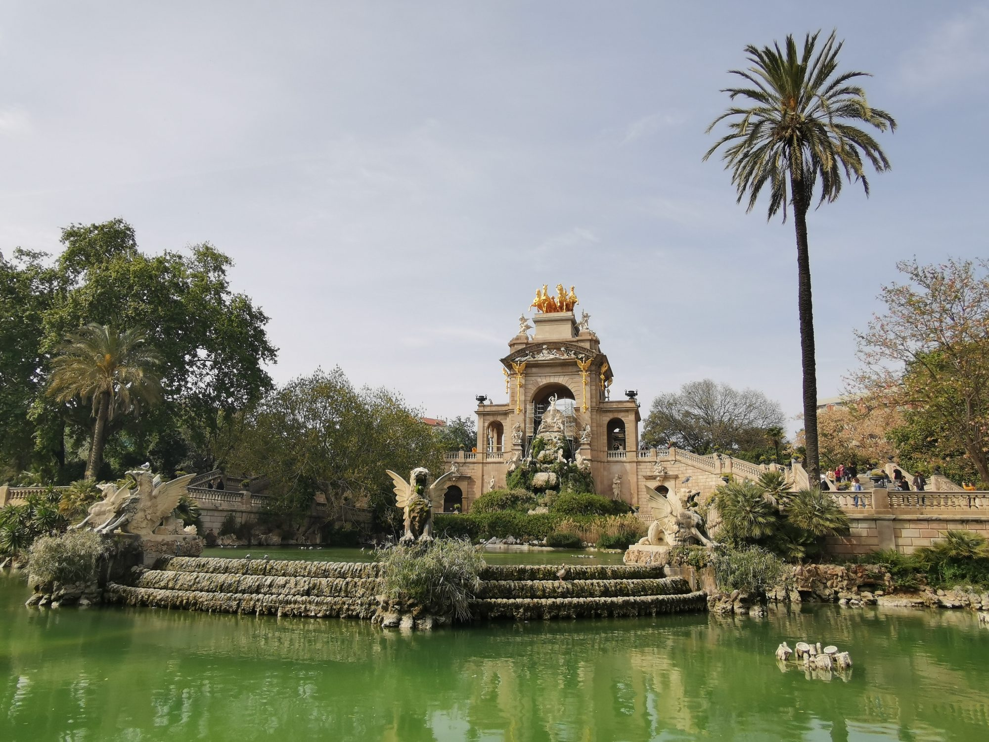 Ciutadella Parc Barcelona