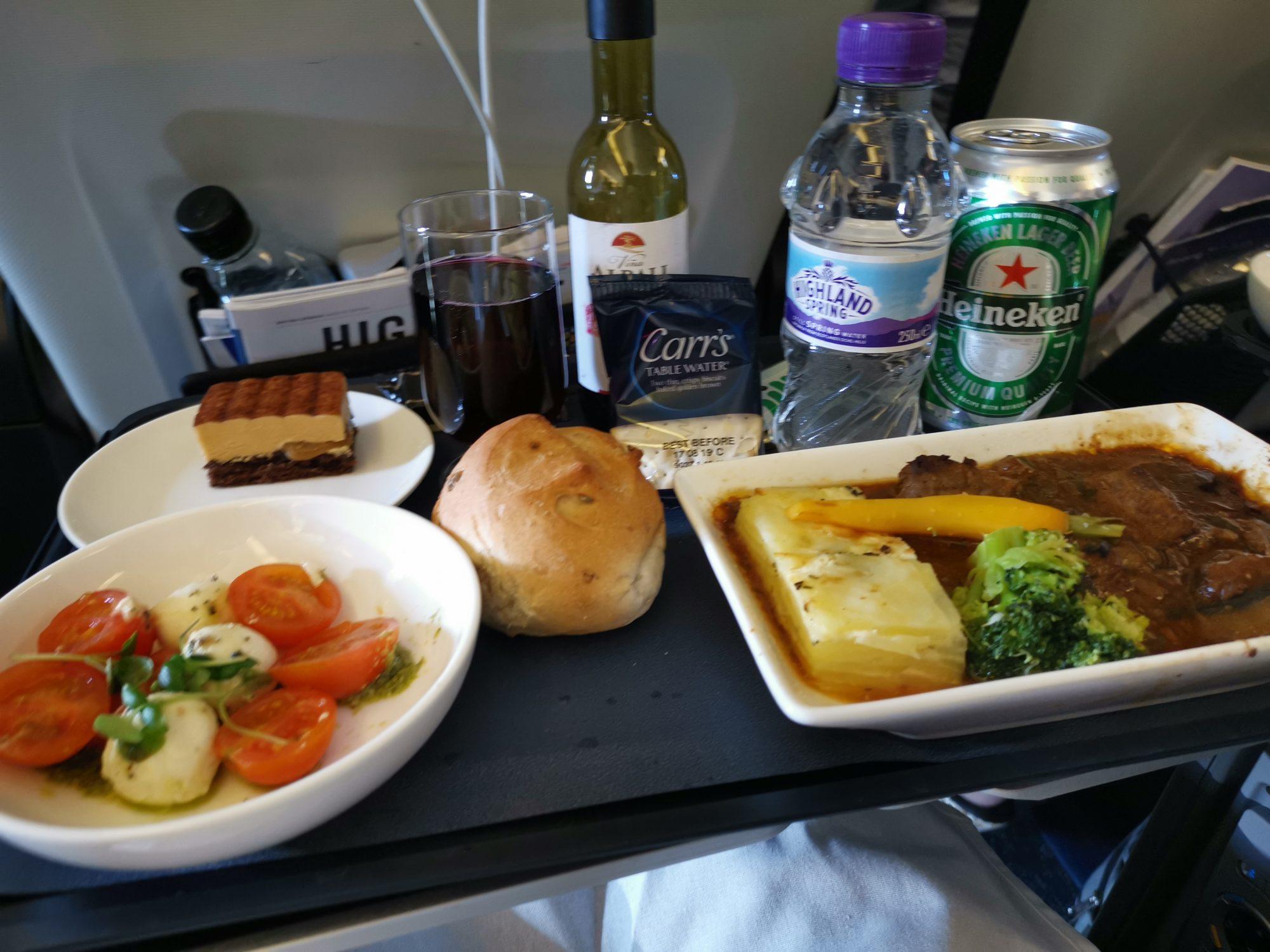 British Airways economy premium - World Traveller Plus.