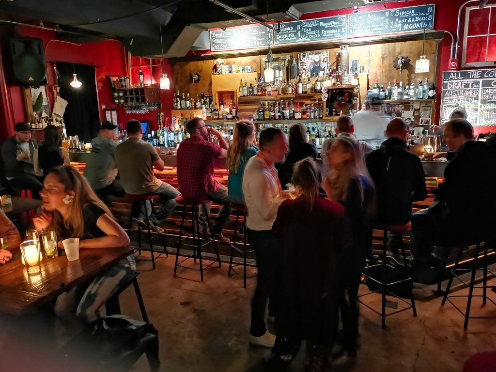 Hemliga barer i Austin