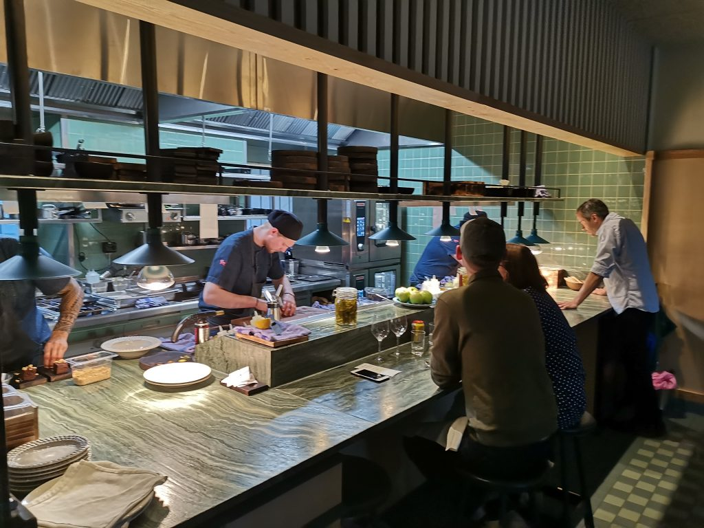 Restaurang Nabo Chef's table