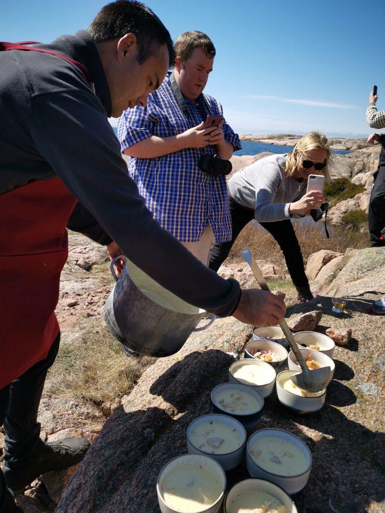 Scandinavian Detours Fisksoppa