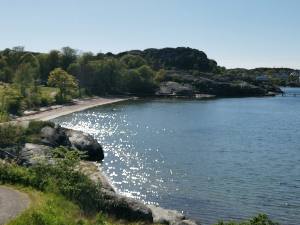 Stranden i Fiskebäckskil