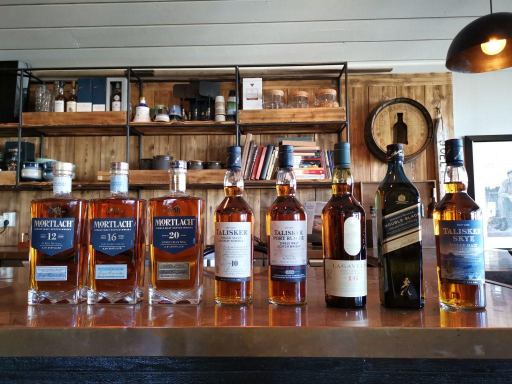 Whiskyprovning på Restaurang Brygghuset