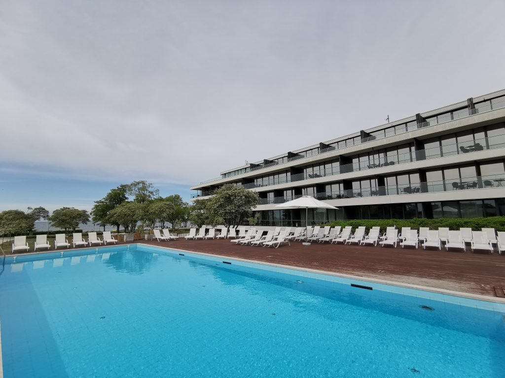 Pool och spa på Novi Resort